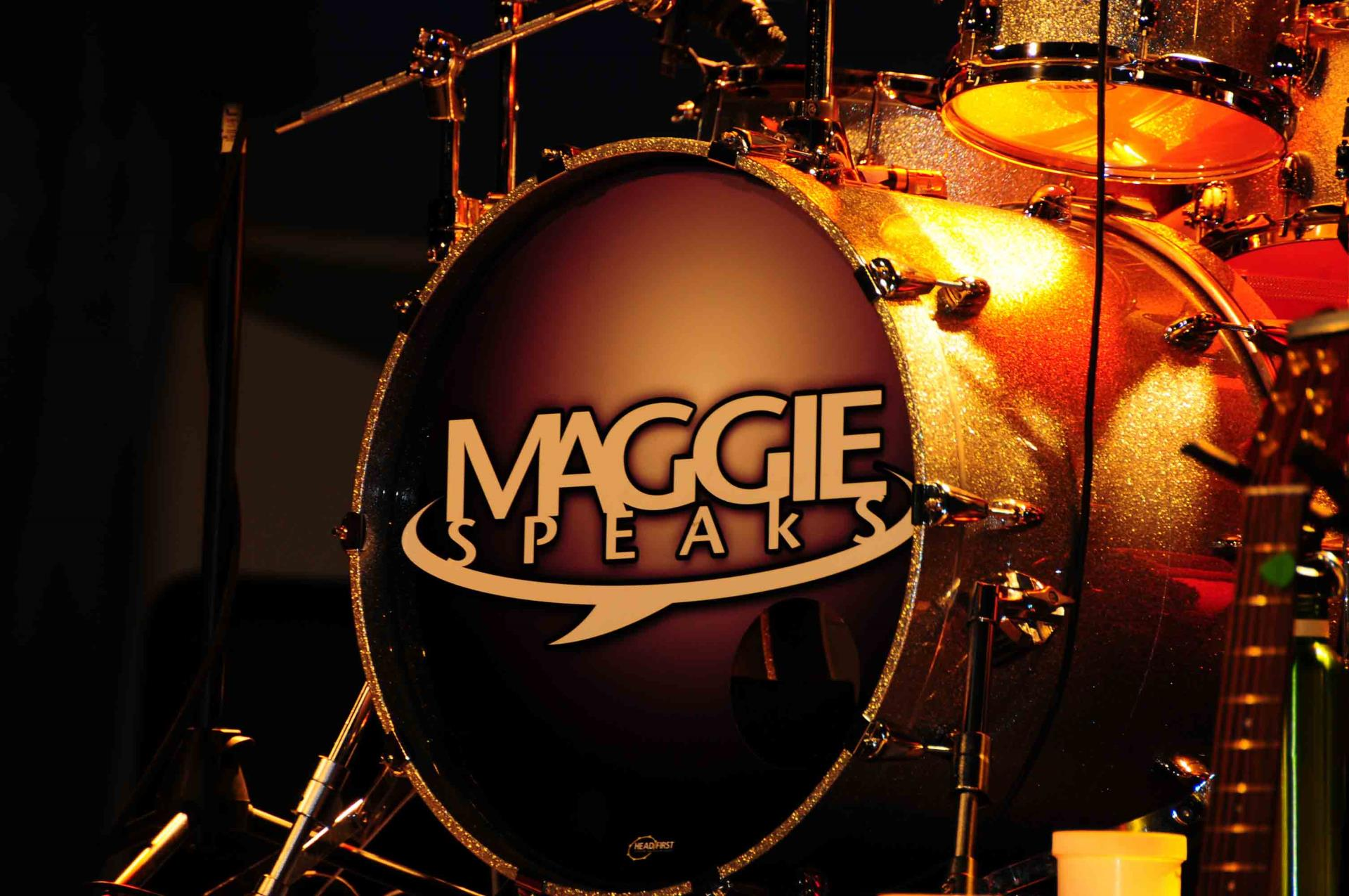 Maggie Speaks-Drum