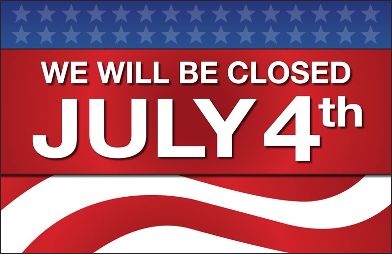 Village Hall Closed 4th of July