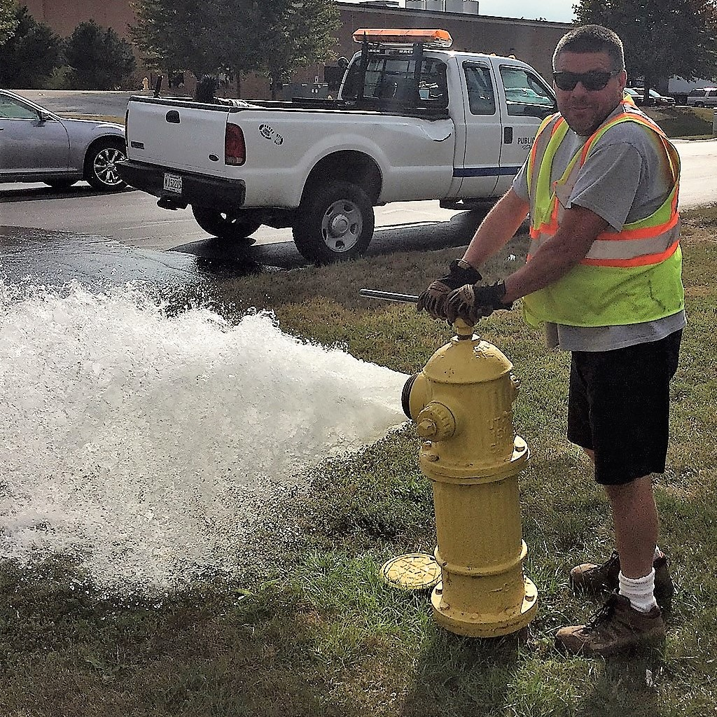 Hydrant Flushing Begins Monday, Sept. 16