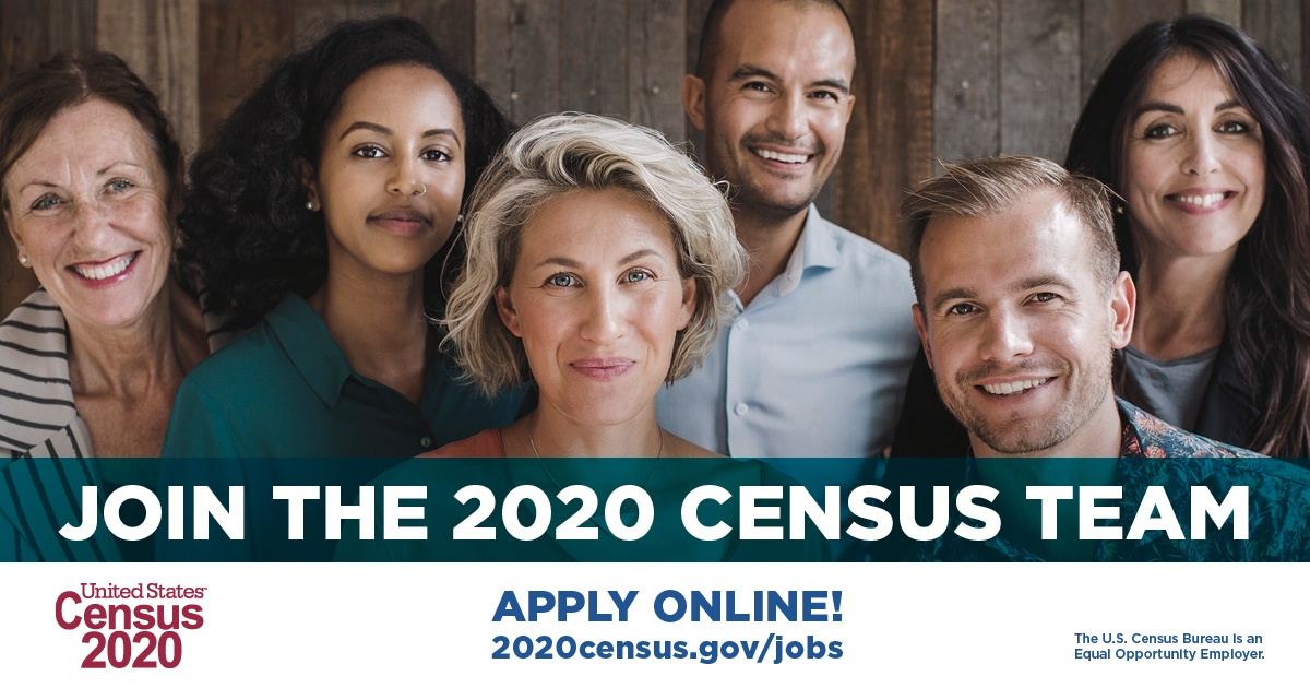 Census 2020 Ouside Job Posting 2019